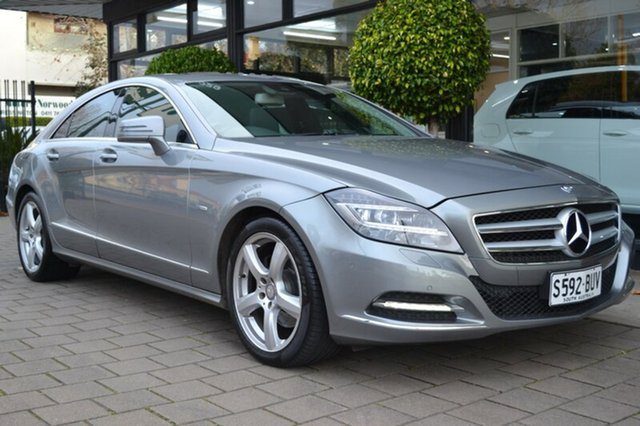 Used Mercedes-Benz CLS350 CDI C218 BlueEFFICIENCY Coupe 7G-Tronic, 2011 Mercedes-Benz CLS350 CDI C218 BlueEFFICIENCY Coupe 7G-Tronic Palladium Silver 7 Speed