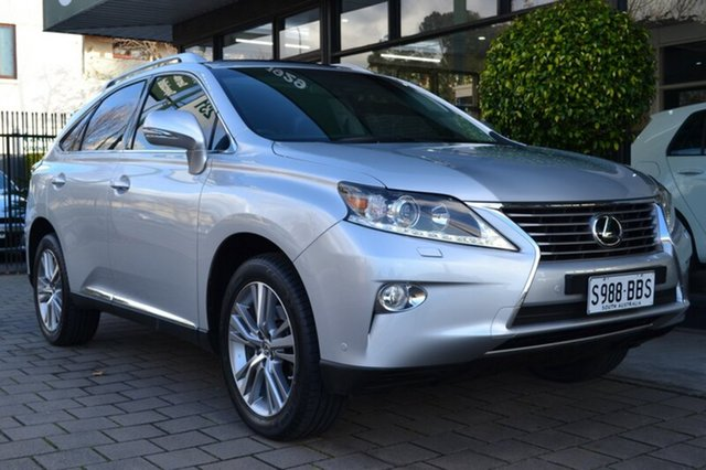 Used Lexus RX350 GGL15R Luxury, 2014 Lexus RX350 GGL15R Luxury Silver 6 Speed Sports Automatic Wagon