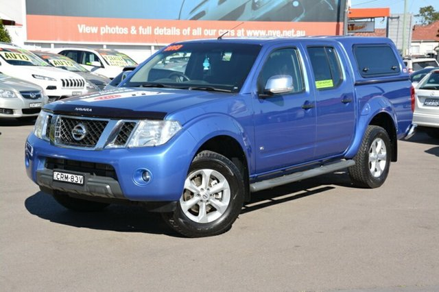 Used Nissan Navara D40 S5 MY12 ST-X, 2013 Nissan Navara D40 S5 MY12 ST-X Blue 7 Speed Sports Automatic Utility