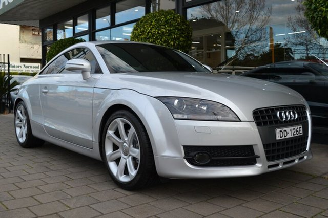 Used Audi TT 8J MY09 S tronic, 2008 Audi TT 8J MY09 S tronic Silver 6 Speed Sports Automatic Dual Clutch Coupe