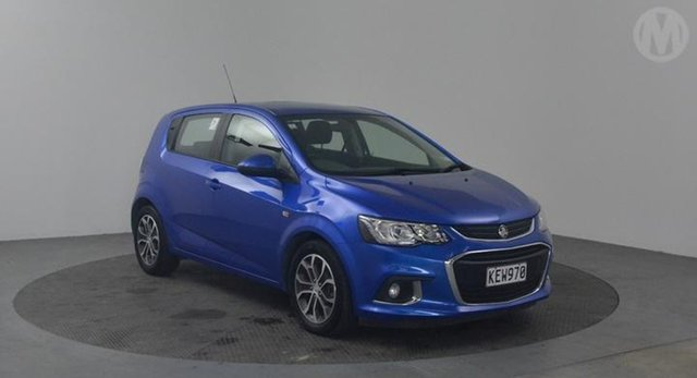 Used Holden Barina LS , 2016 Holden Barina LS Blue 6 Speed Automatic Hatchback