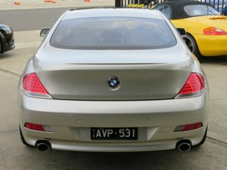 2005 BMW 645Ci E63 Mineral Silver 6 Speed Auto Steptronic Coupe
