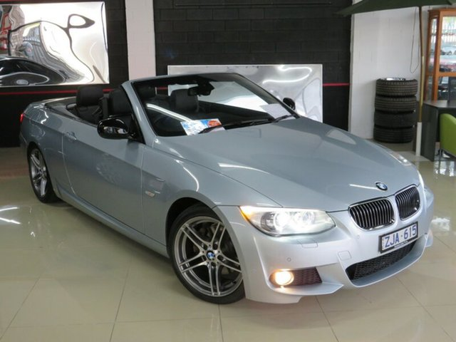 Used BMW 320d E93 MY12 , 2012 BMW 320d E93 MY12 Silver Contrast 6 Speed Auto Steptronic Convertible