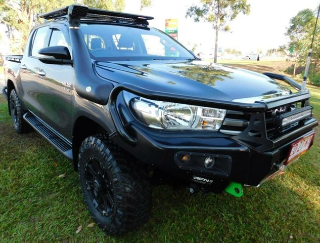 Used Toyota Hilux GUN126R SR Double Cab, 2015 Toyota Hilux GUN126R SR Double Cab Grey 6 Speed Manual Utility