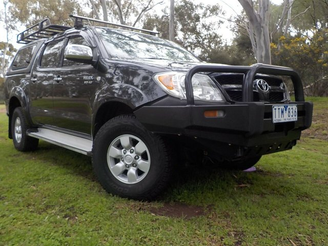 Used Toyota Hilux GGN25R MY05 SR5, 2005 Toyota Hilux GGN25R MY05 SR5 5 Speed Automatic Utility