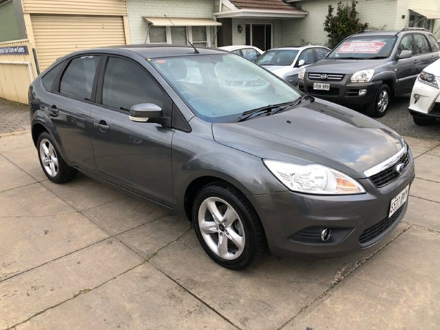 Used Ford Focus LV LX, 2010 Ford Focus LV LX Dark Silver 4 Speed Sports Automatic Hatchback