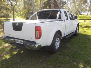 2008 Nissan Navara D40 ST-X King Cab 6 Speed Manual Cab Chassis