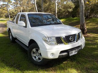 2008 Nissan Navara D40 ST-X King Cab 6 Speed Manual Cab Chassis.