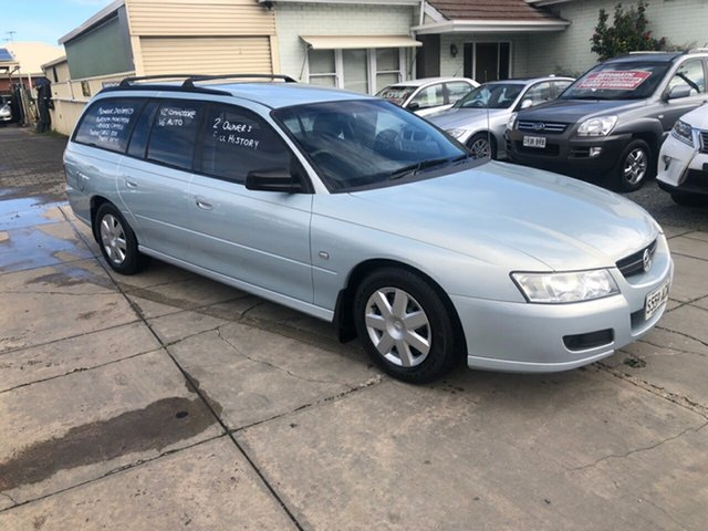 Used Holden Commodore VZ MY06 Executive, 2006 Holden Commodore VZ MY06 Executive Glaze Silver 4 Speed Automatic Wagon