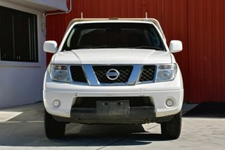 2014 Nissan Navara D40 S8 RX White 6 Speed Manual Cab Chassis.