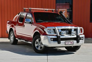 2008 Nissan Navara D40 ST-X Red 5 Speed Automatic Utility.