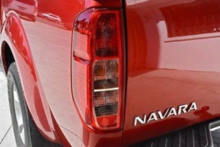 2008 Nissan Navara D40 ST-X Red 5 Speed Automatic Utility