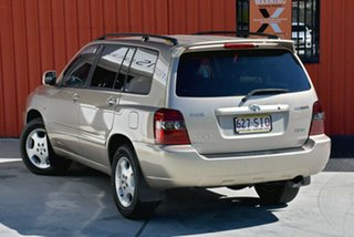2004 Toyota Kluger MCU28R Grande AWD Gold 5 Speed Automatic Wagon.