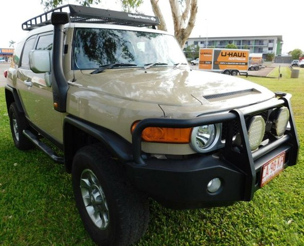 Used Toyota FJ Cruiser GSJ15R MY14 , 2013 Toyota FJ Cruiser GSJ15R MY14 Beige 5 Speed Automatic Wagon