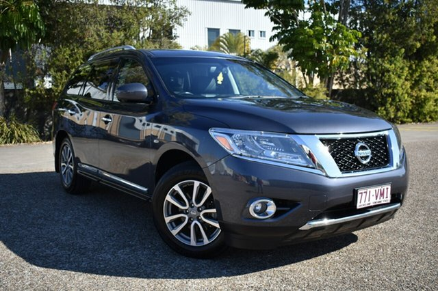 Used Nissan Pathfinder R52 MY15 ST-L X-tronic 4WD, 2015 Nissan Pathfinder R52 MY15 ST-L X-tronic 4WD Grey 1 Speed Constant Variable Wagon