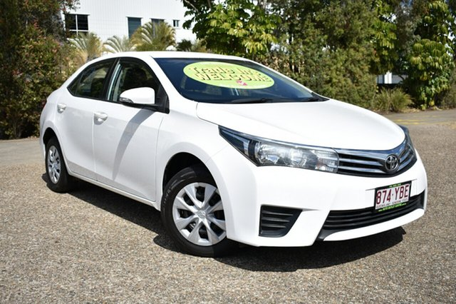 Used Toyota Corolla ZRE172R Ascent S-CVT, 2014 Toyota Corolla ZRE172R Ascent S-CVT White 7 Speed Constant Variable Sedan