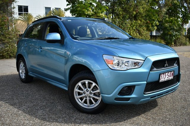 Used Mitsubishi ASX XA MY11 2WD, 2011 Mitsubishi ASX XA MY11 2WD Blue 6 Speed Constant Variable Wagon