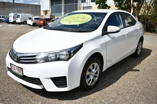 2014 Toyota Corolla ZRE172R Ascent S-CVT White 7 Speed Constant Variable Sedan.