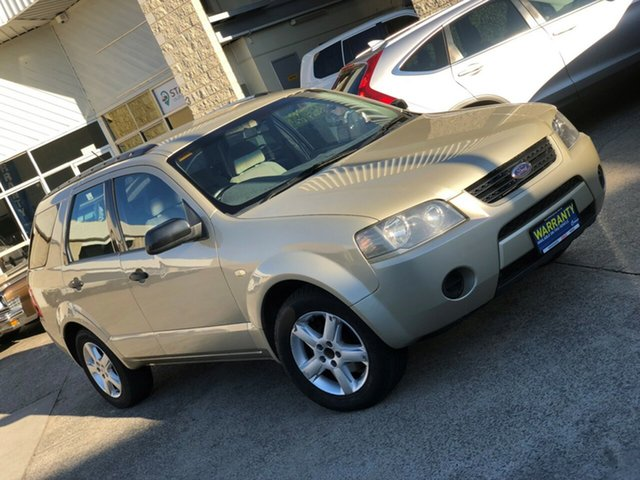 Used Ford Territory SX TS AWD, 2005 Ford Territory SX TS AWD Gold 4 Speed Sports Automatic Wagon