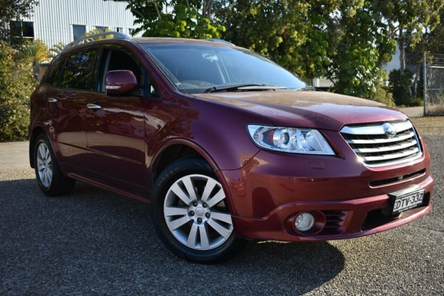 Used Subaru Tribeca B9 MY12 R AWD Premium Pack, 2012 Subaru Tribeca B9 MY12 R AWD Premium Pack Red 5 Speed Sports Automatic Wagon