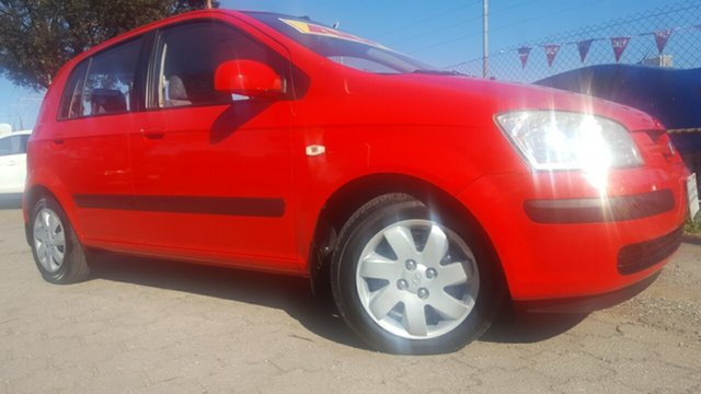 Used Hyundai Getz TB MY06 , 2005 Hyundai Getz TB MY06 Red 4 Speed Automatic Hatchback