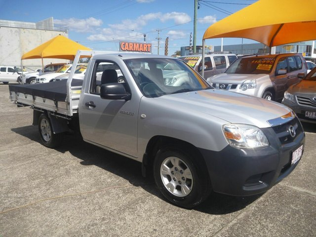 Used Mazda BT-50 UNY0W4 DX 4x2, 2009 Mazda BT-50 UNY0W4 DX 4x2 Silver 5 Speed Manual Cab Chassis