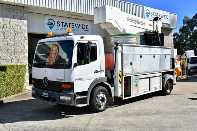 Used Mercedes-Benz Atego  , 2004 Mercedes-Benz Atego 1628 White Truck