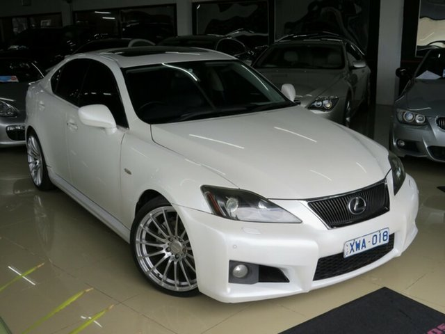 Used Lexus IS250 GSE20R Sports Luxury, 2007 Lexus IS250 GSE20R Sports Luxury Pearl White 6 Speed Auto Sequential Sedan