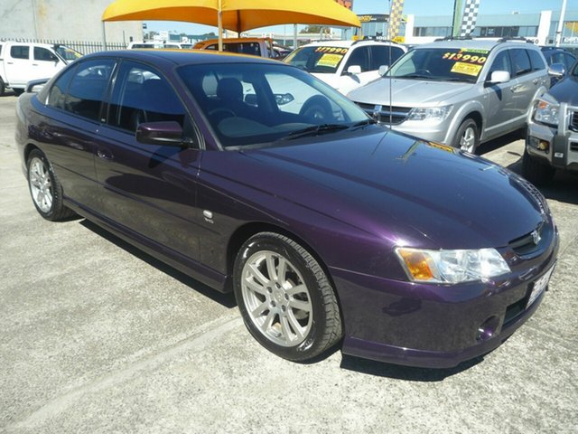 Used Holden Commodore VY II S, 2004 Holden Commodore VY II S Purple 5 Speed Manual Sedan