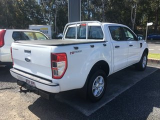 2012 Ford Ranger PX XL HIGH RIDER AUTO DIESEL White 6 Speed Auto Active Select Dual Cab