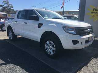 2012 Ford Ranger PX XL HIGH RIDER AUTO DIESEL White 6 Speed Auto Active Select Dual Cab.