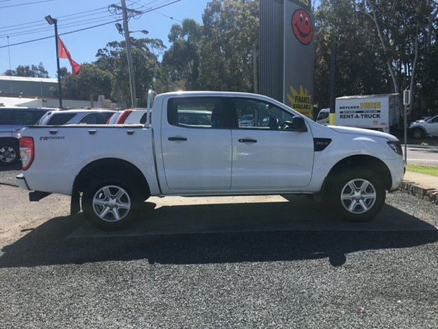 Used Ford Ranger PX , 2012 Ford Ranger PX XL HIGH RIDER AUTO DIESEL White 6 Speed Auto Active Select Dual Cab