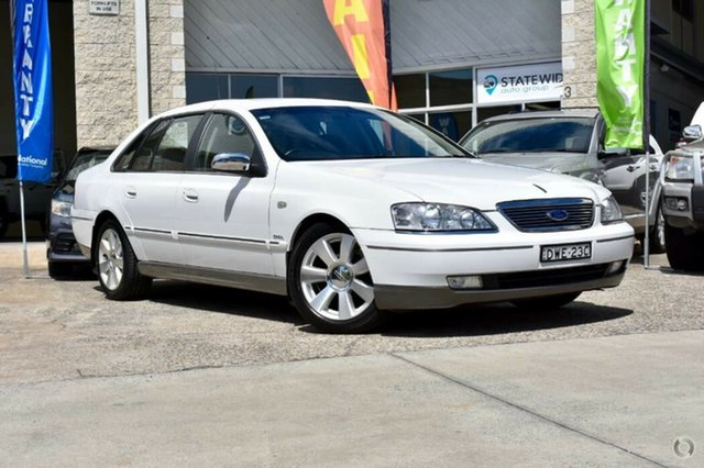 Used Ford Fairlane BF Ghia, 2007 Ford Fairlane BF Ghia White 6 Speed Sports Automatic Sedan