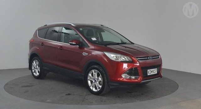 Used Ford Kuga  , 2016 Ford Kuga Trend Red 6 Speed Automatic Wagon