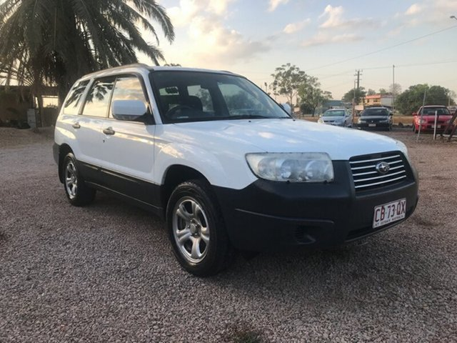 Used Subaru Forester 79V MY06 X AWD, 2005 Subaru Forester 79V MY06 X AWD White 5 Speed Manual Wagon