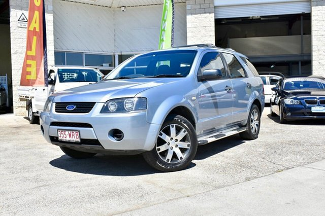 Used Ford Territory SY SR RWD, 2008 Ford Territory SY SR RWD Blue 4 Speed Sports Automatic Wagon