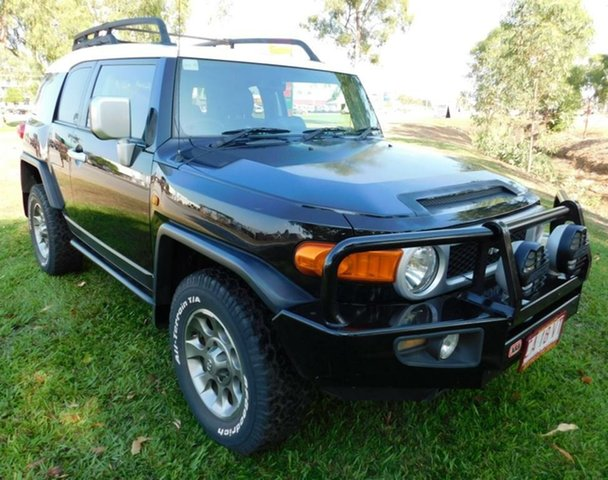 Used Toyota FJ Cruiser GSJ15R , 2011 Toyota FJ Cruiser GSJ15R Black 5 Speed Automatic Wagon