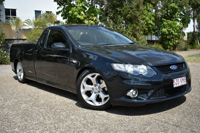 Used Ford Falcon FG XR6 Super Cab, 2009 Ford Falcon FG XR6 Super Cab Black 6 Speed Manual Cab Chassis