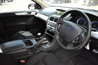 2009 Ford Falcon FG XR6 Super Cab Black 6 Speed Manual Cab Chassis
