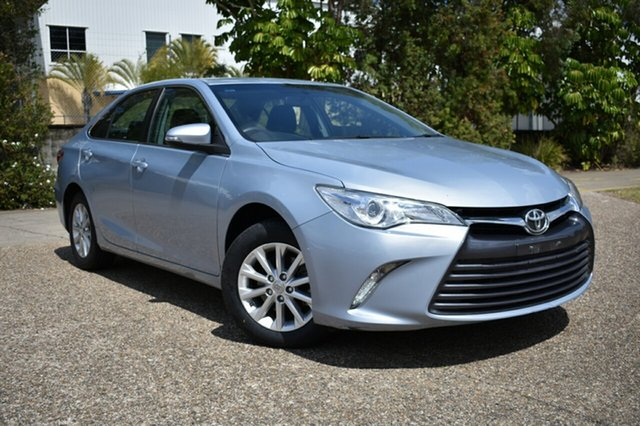 Used Toyota Camry ASV50R Altise, 2015 Toyota Camry ASV50R Altise Blue 6 Speed Sports Automatic Sedan