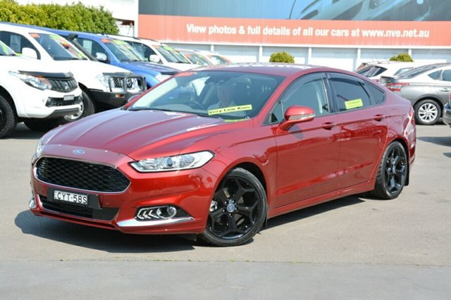 Used Ford Mondeo MD Trend SelectShift, 2015 Ford Mondeo MD Trend SelectShift Red 6 Speed Sports Automatic Hatchback