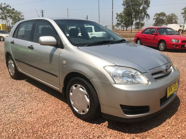 Used Toyota Corolla ZZE122R 5Y Ascent, 2005 Toyota Corolla ZZE122R 5Y Ascent Silver 4 Speed Automatic Hatchback