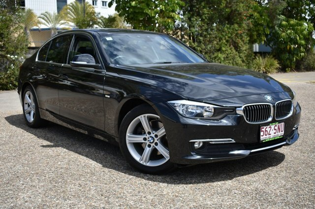 Used BMW 320d F30 , 2012 BMW 320d F30 Black 8 Speed Sports Automatic Sedan