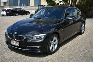 2012 BMW 320d F30 Black 8 Speed Sports Automatic Sedan.