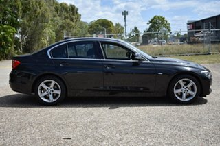 2012 BMW 320d F30 Black 8 Speed Sports Automatic Sedan