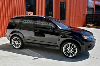 2009 Mitsubishi Outlander ZG MY09 LS Black 6 Speed Constant Variable Wagon