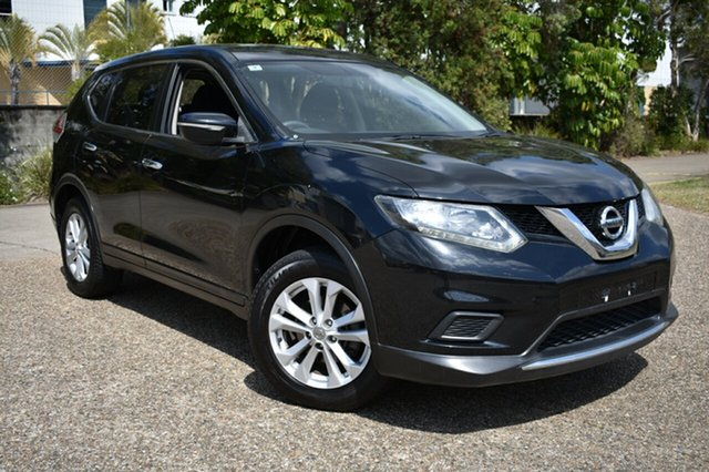 Used Nissan X-Trail T32 ST X-tronic 2WD, 2014 Nissan X-Trail T32 ST X-tronic 2WD Black 7 Speed Constant Variable Wagon
