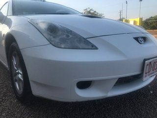 1999 Toyota Celica ZZT231R SX White 6 Speed Manual Liftback.