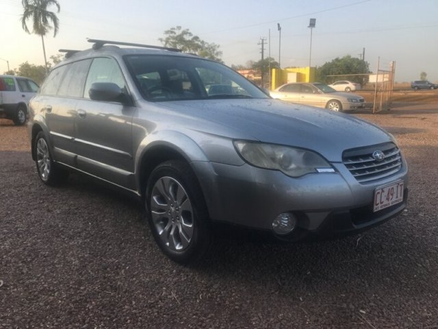 Used Subaru Outback B4A MY08 R AWD Premium Pack, 2008 Subaru Outback B4A MY08 R AWD Premium Pack Silver 5 Speed Sports Automatic Wagon