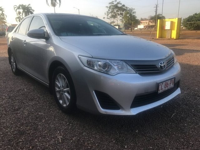 Used Toyota Camry ASV50R Altise, 2014 Toyota Camry ASV50R Altise Silver 6 Speed Sports Automatic Sedan